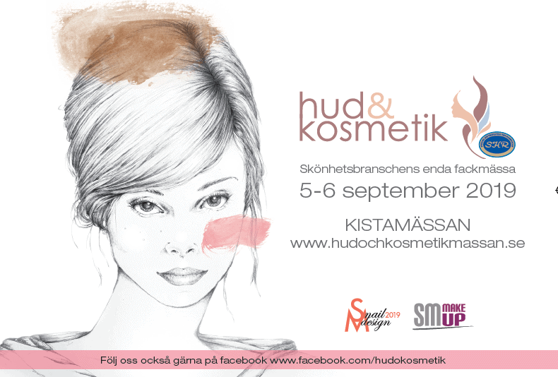 Hud och kostmetik - Mässa Kistamässan 2019 september