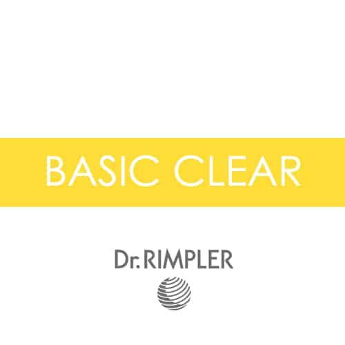 Dr. Rimpler Produktserie Basic Clear