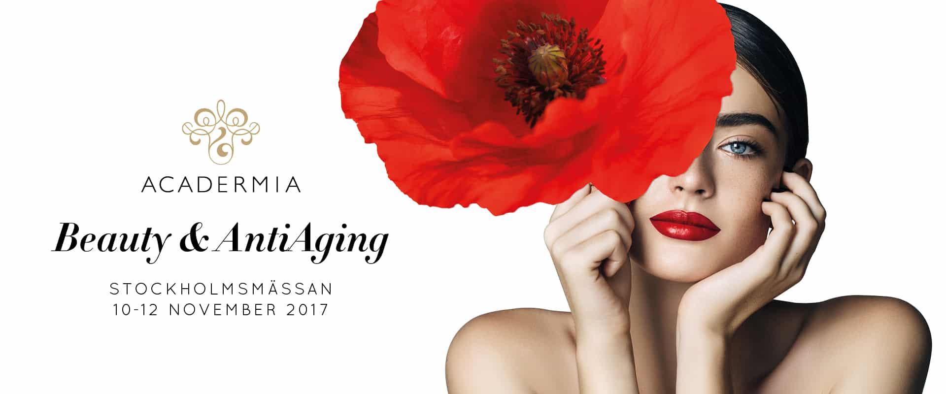 Acadermia - Beauty & AntiAging - Mässa Stockholmsmässan 2017 november